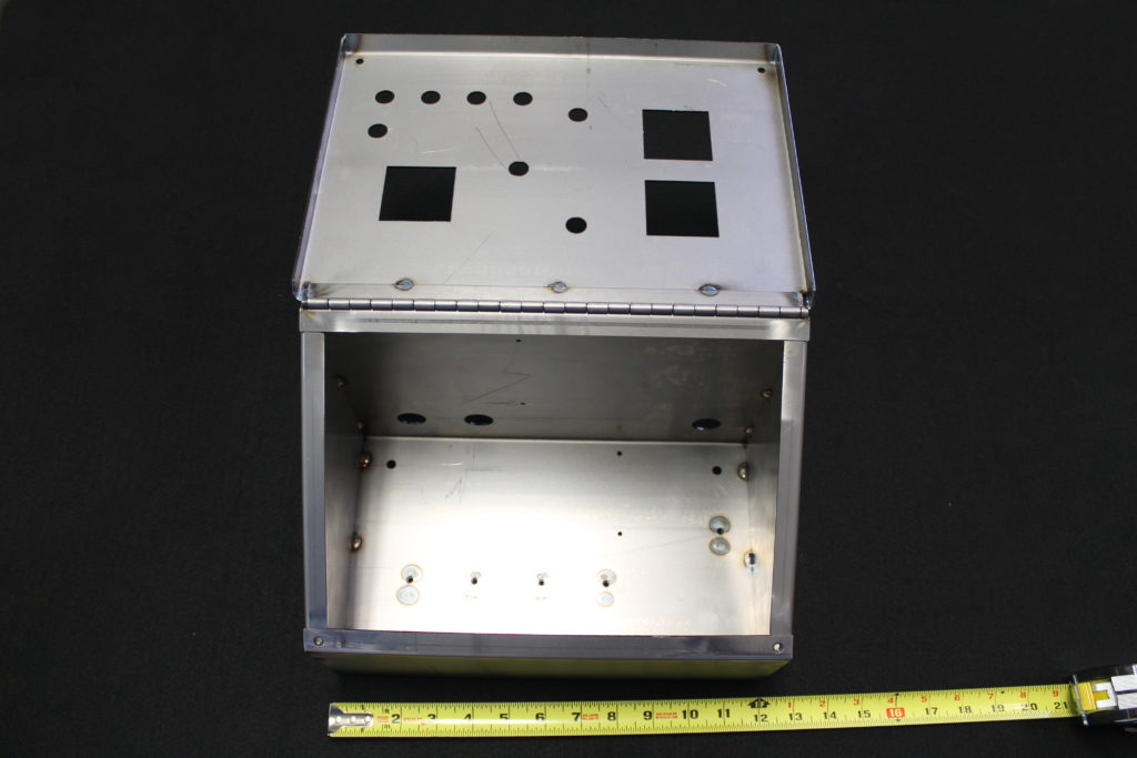 sheet metal fabrication box 90239