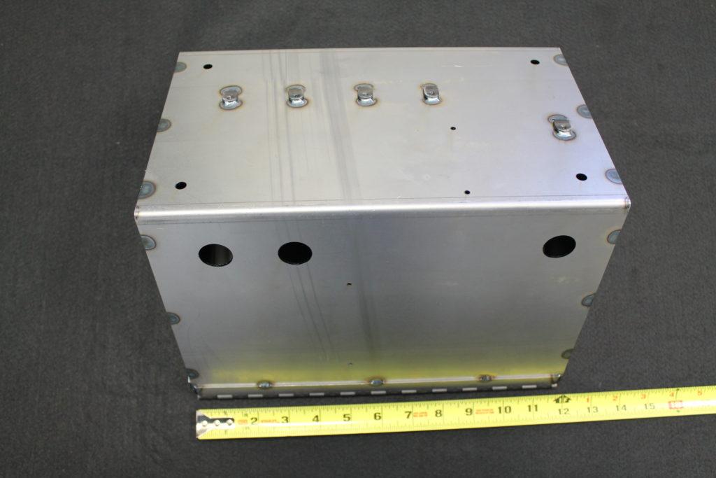 steel sheet metal fabrication box 90239