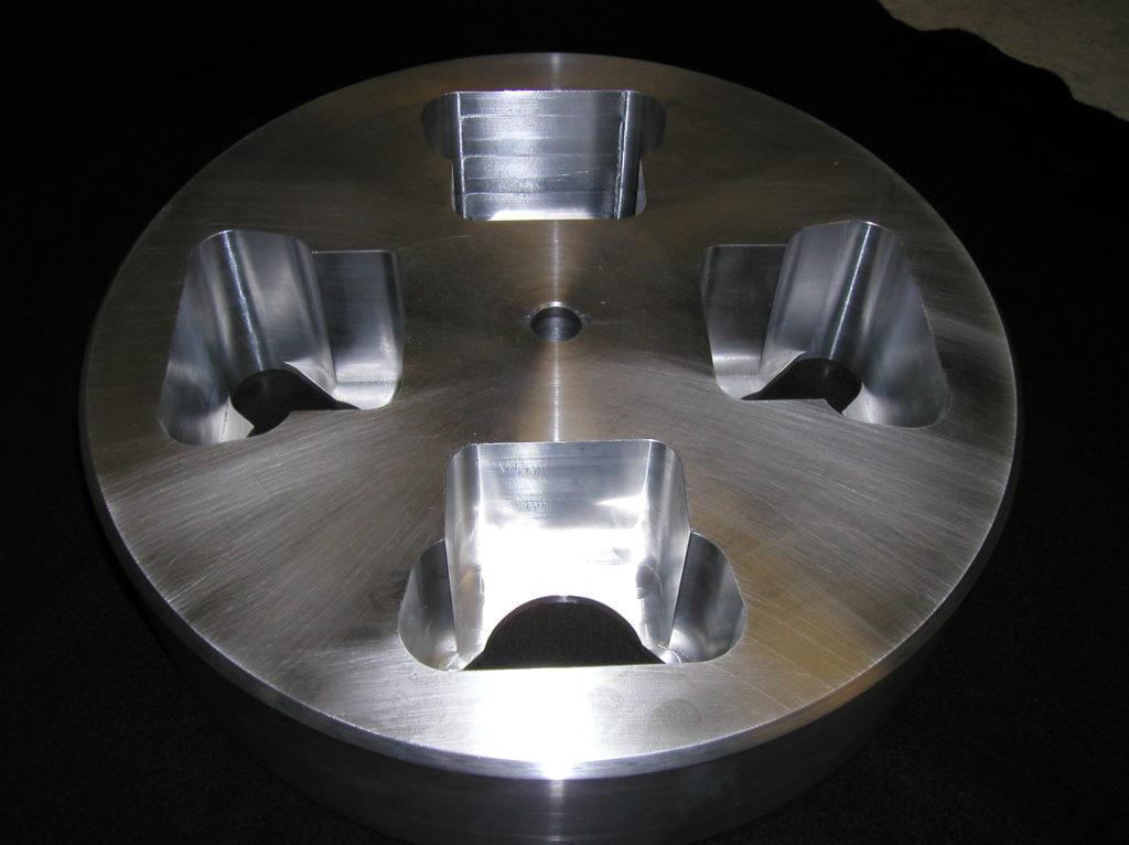 cnc machining rotor