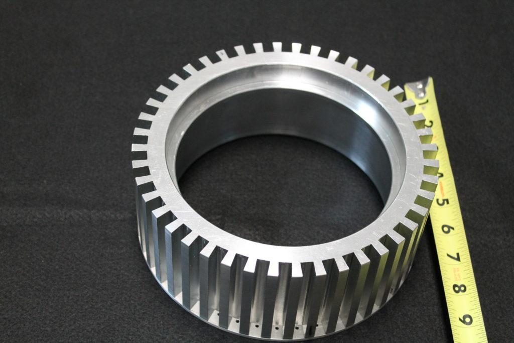 insert aluminum machining