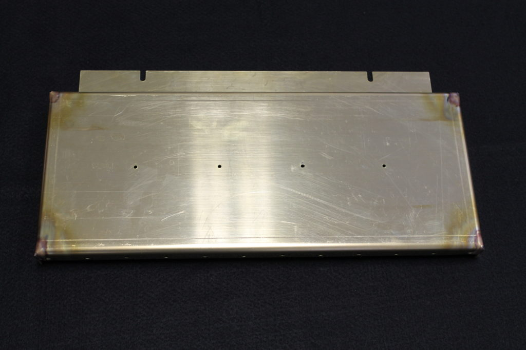 sheet metal brass cover