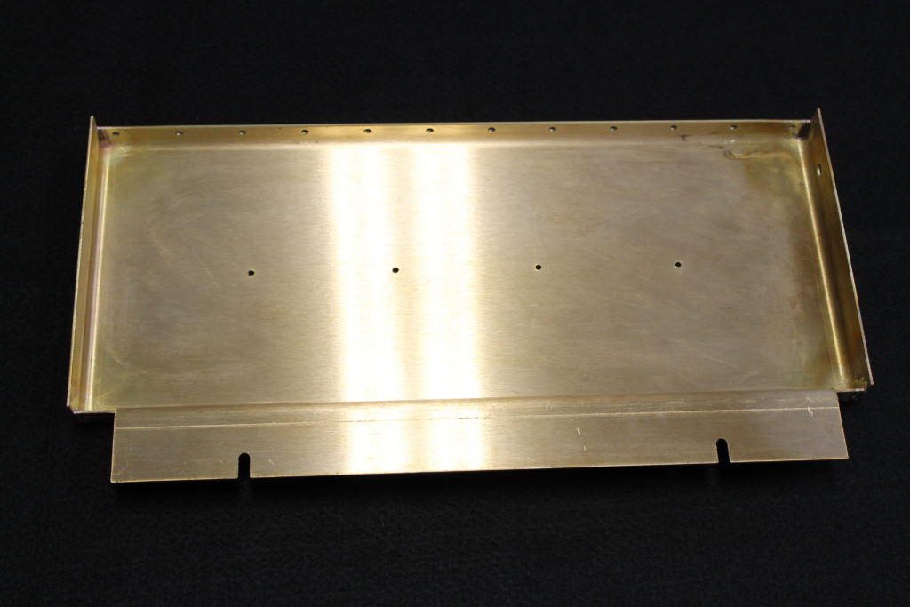 laser cut brass cover