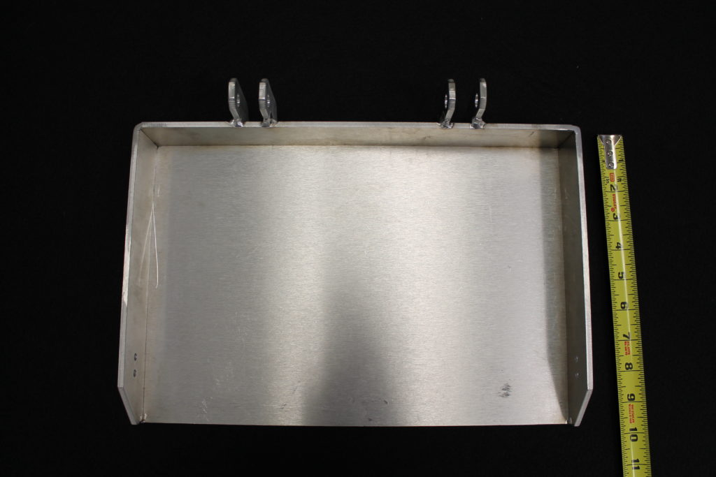 aluminum sheet metal enclosure cover