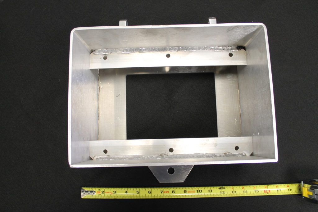 aluminum sheet metal enclosure fabrication housing