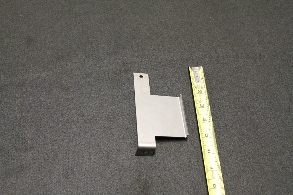 steel sheet metal fabrication bracket 90608