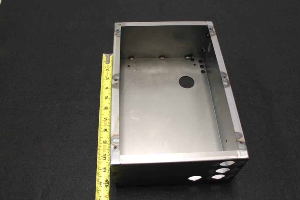 steel sheet metal fabrication box 90240